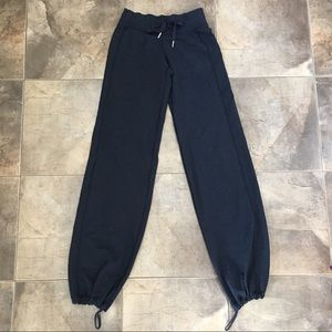 EUC Lululemon Navy Blue Joggers Sweatpants 2
